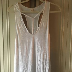 Free People tank top with harness detail